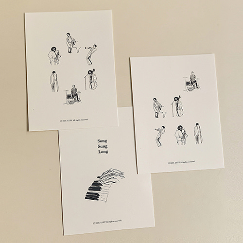 [LUFF] musician post card set