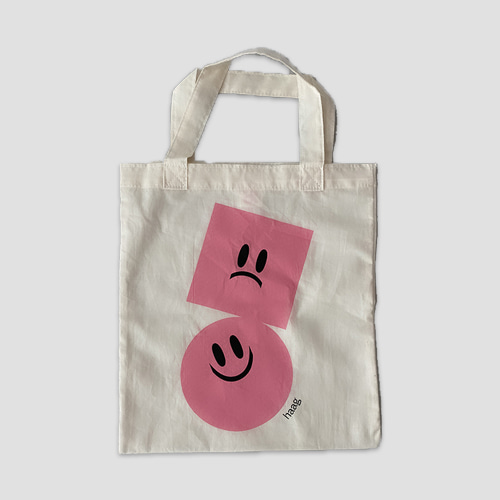 [haag] a petit grocery bag_pink