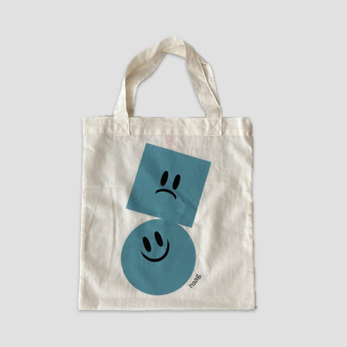 [haag] a petit grocery bag_blue