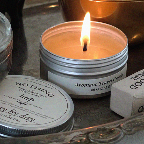 3차입고* [hap] aromatic travel candle_3종