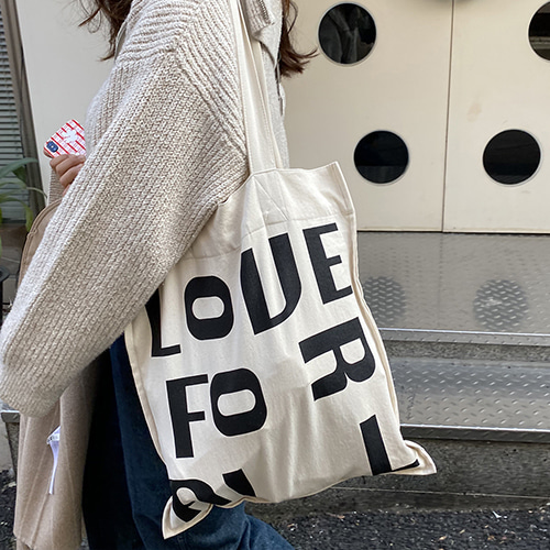 재입고*[민민] love for all bag(2way bag)