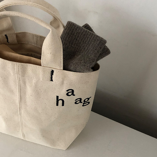5차입고*[haag] a picnic bag small