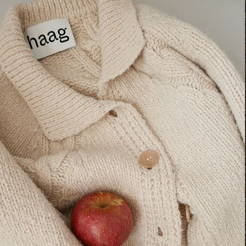 [haag] an orchard cardigan